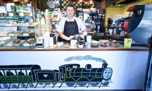 Paweł Szala, manager of the Runaway cafe, said: 'It's been a hard time for us to survive.'