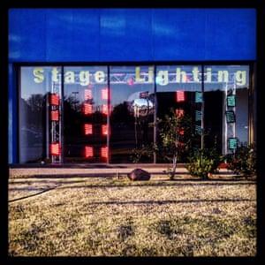 Stage Lighting shop, Dallas