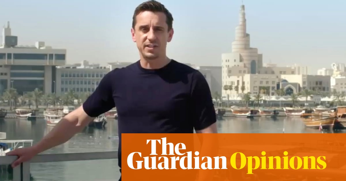 Gary Neville asks right questions of Qatar but gets no nearer answers we need | Barney Ronay