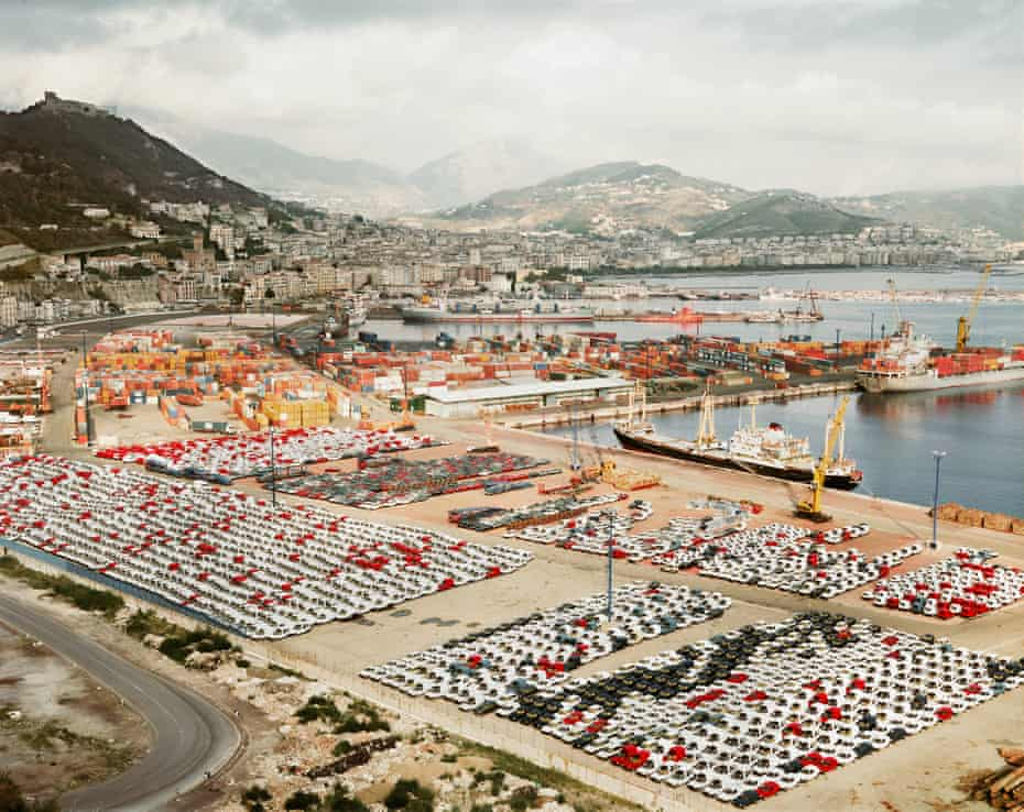 Andreas Gursky's best photograph … Salerno I, 1990, which left him feeling 'overwhelmed'.