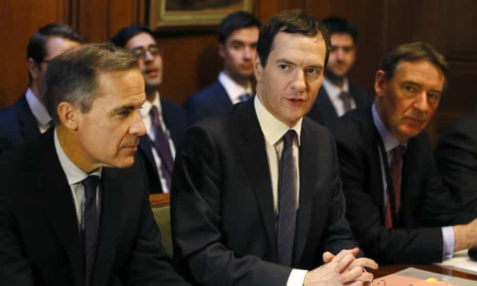 With George Osborne in 2016.