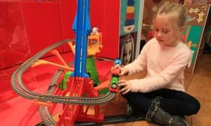 Thomas and Friends Trackmaster Sky-High Bridge Jump.