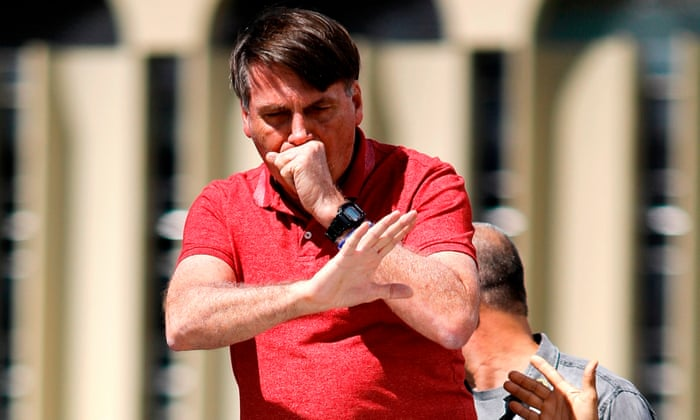 Brazilian president Jair Bolsonaro denounced for joining pro ...