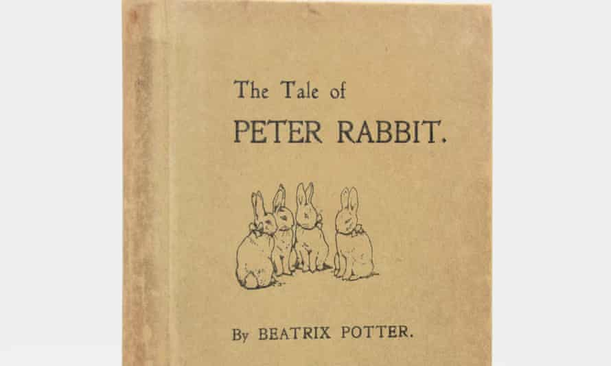 A little rubbed, with some light foxing: the marquess's copy of Peter Rabbit should fetch more than 50p.