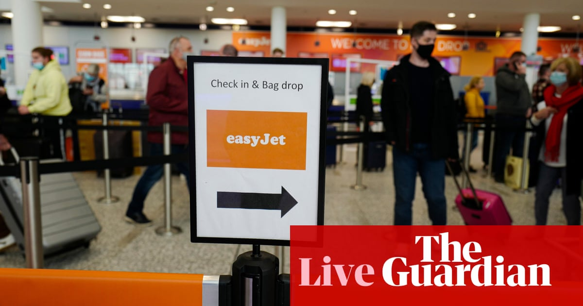 Coronavirus live news: new rules for travel in England; New Zealand to phase out elimination strategy