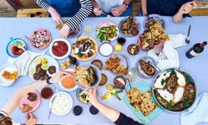 Summer Mediterranean feast