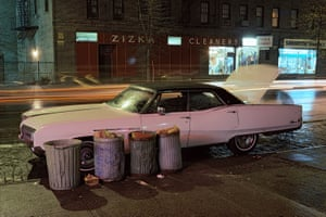Zizka Cleaners car, Buick Electra Cars, New York City series, 1976
