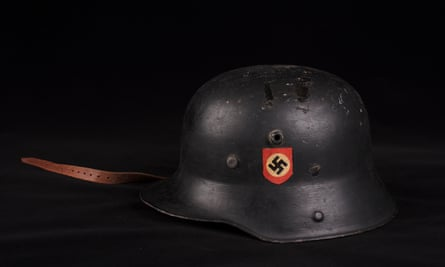 SS helmet owned and used by Reichsführer-SS Heinrich Himmler