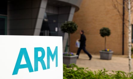 Arm's headquarters in Cambridge.