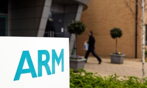 ARM Holdings makes technology for Apple devices among others.