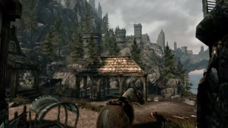 The stables at Solitude.
