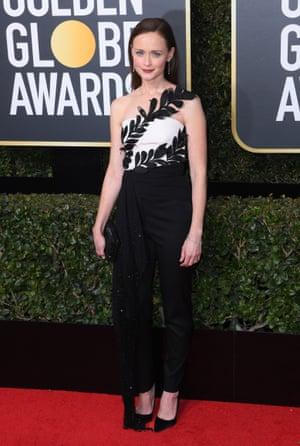 Alexis Bledel 75th Annual Golden Globe Awards