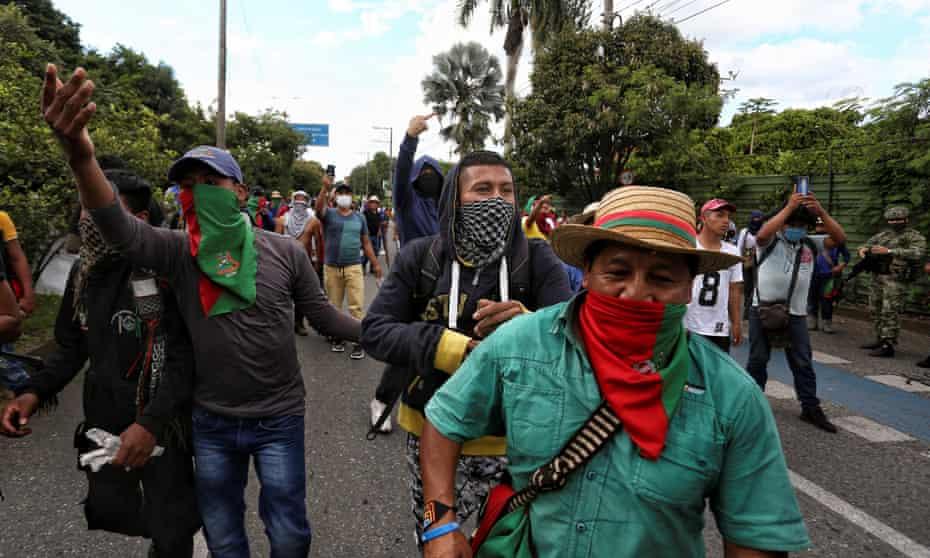 Colombia, Colombia protests,Cali,Puerto Resistencia, coronavirus pandemic, Harbouchanews