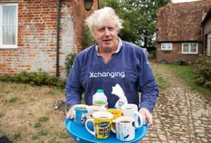 Boris Johnson comments brings tea for journalists