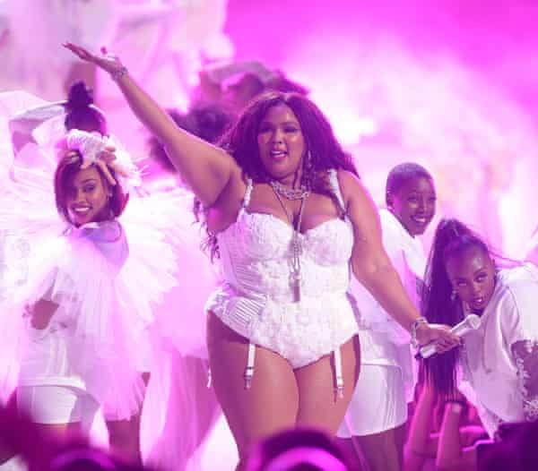 Lizzo, appearing on BBC Two from 7.30pm.
