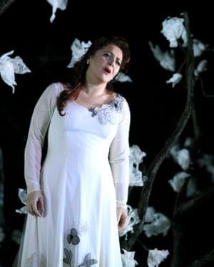 Maria Agresta in Il Trovatore.