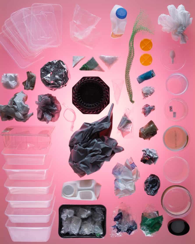 Photograph of Ian Jack's plastic