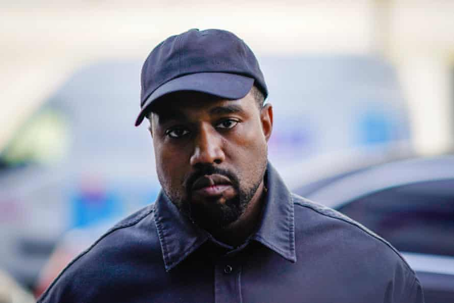 New directions: Kanye West at Paris Fashion Week in 2018.