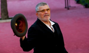 David Mamet at last year's Rome film festival.