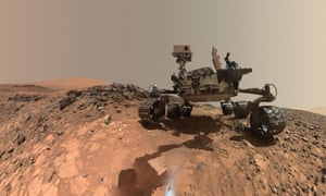 This is me on Mars … self-portrait showing Curiosity on the lower slopes of Mount Sharp.