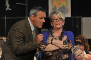 Mark Moraghan and Pauline Daniels in Our Day Out The Musical, Royal Court, 2010