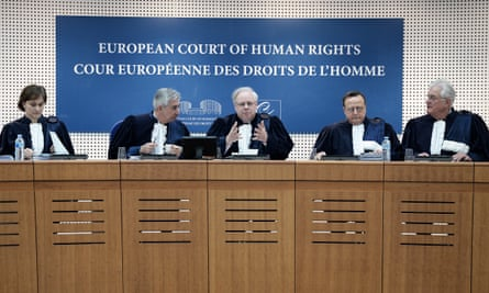 Judges of the European court of human rights.