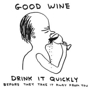Good Wine by David Shrigley