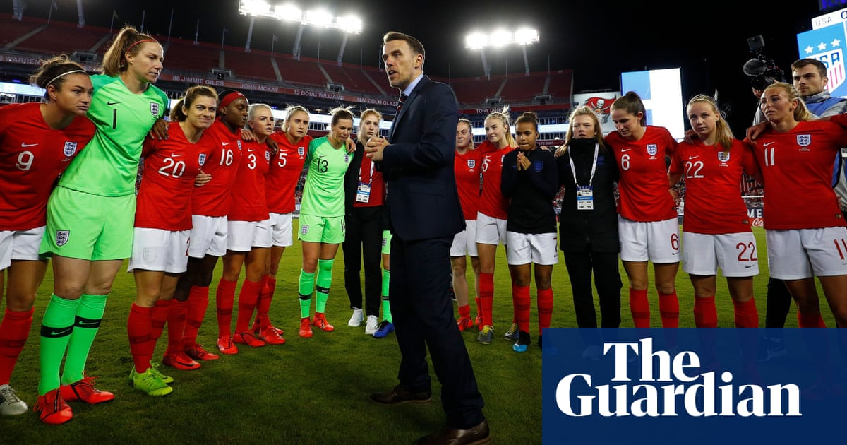 Phil Neville and England relishing tough task of SheBelieves Cup title defence