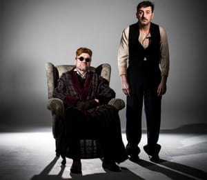 David Neilson, left, and Chris Gascoyne in Endgame.
