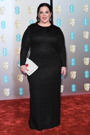 Saving the best for last … Melissa McCarthy may have been a latecomer on the red carpet but her look was worth the wait.