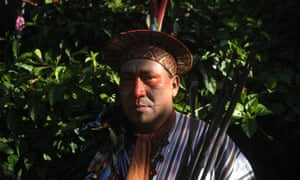 Berlín Diques, president of ORAU, the branch of Peru's umbrella federation of Amazonp peoples in Ucayali.