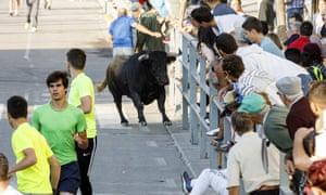 A 62-year-old man died during the bull run in Cuéllar