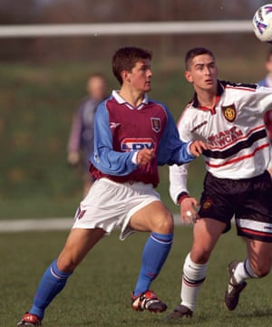 Greg Walters in action for Aston Villa Under-17s.
