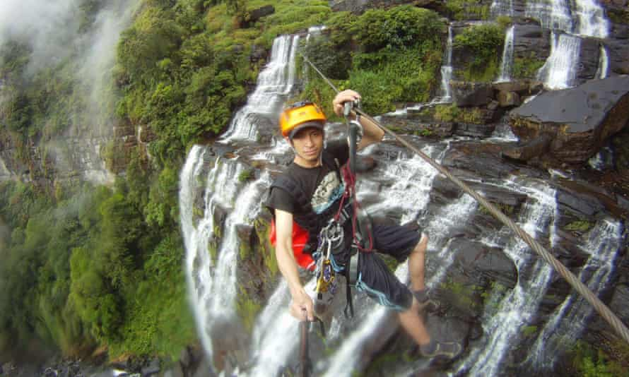 Doing the Vang Vieng Challenge with Green Discovery
