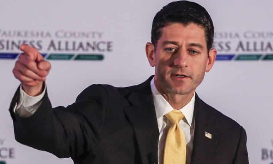 'If there's anybody who out to emerge as the titular leader of the party in the ruins, it will be Paul Ryan.'