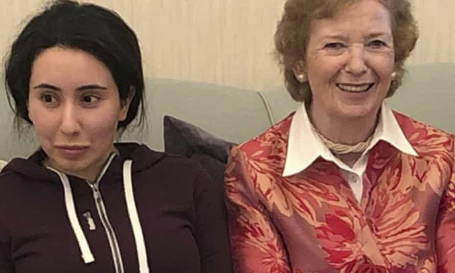 Mary Robinson and Princess Latifa