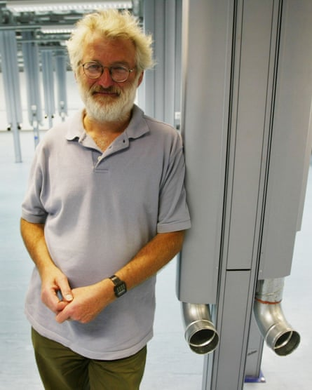 John Sulston, winner of the 2002 Nobel prize for medicine.