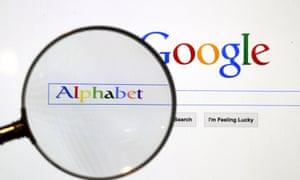 Google Alphabet screenshot