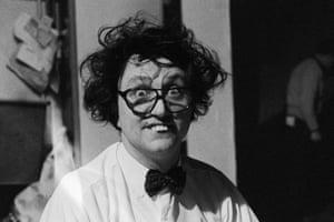 Dodd shows off his trademark buck teeth and crazy hair, circa 1970.