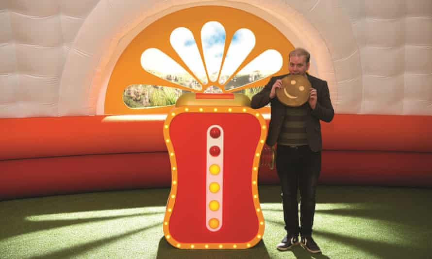Stuart Heritage in the set of the Teletubbies.