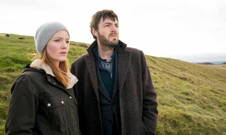 It's complicated … Holliday Grainger and Tom Burke in the TV adaptation of Lethal White.