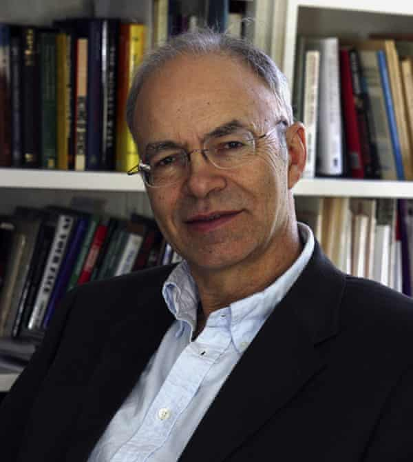 Peter Singer: doesn't believe identification is necessary for accountability