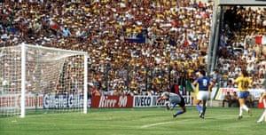 Falcao scores Brazil's second.