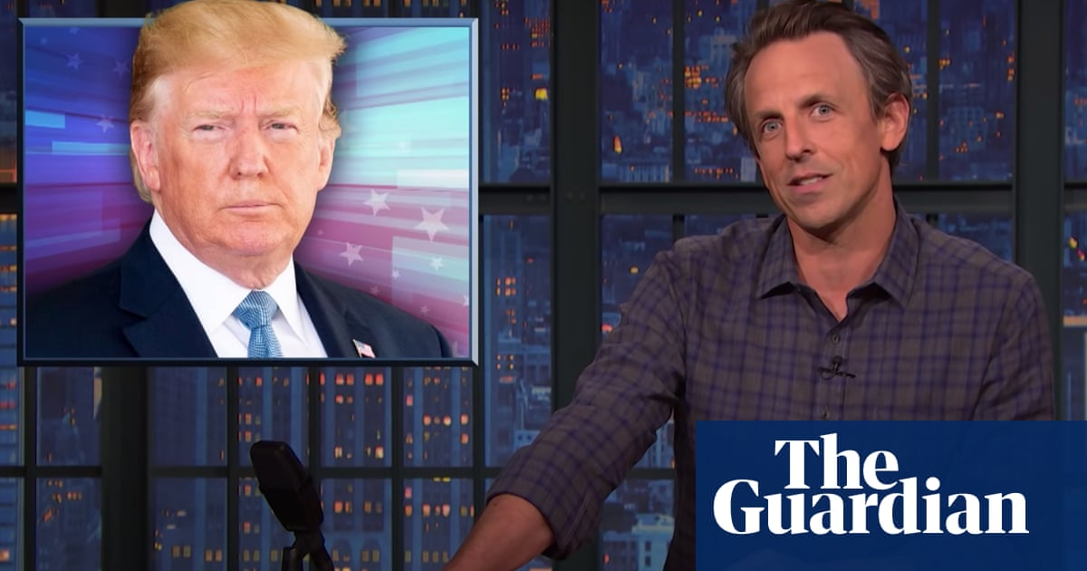 Seth Meyers on Trump's legal trouble: 'I'm just shocked it took two years'