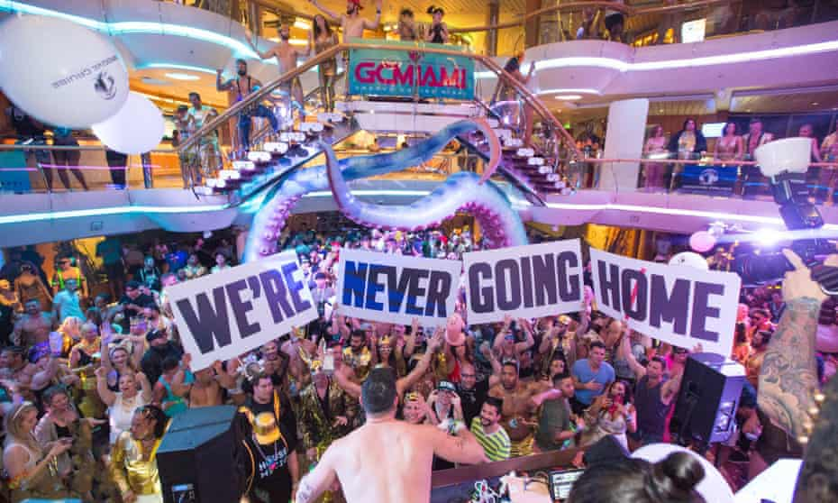 The Groove cruise, a floating dance music festival.