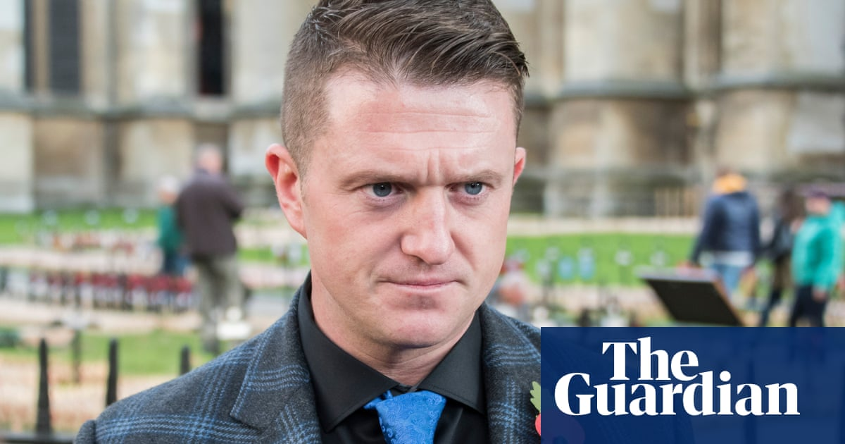 PayPal bans Tommy Robinson from using service