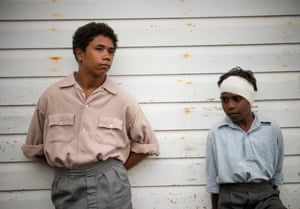 Nilbi and Christopher as young Monty and Paul.