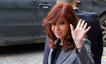 Cristina Fernández de Kirchner served as president of Argentina from 2007 to 2015.
