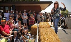 Marianne Williamson's new age-infused campaign resonates in Fairfield, Iowa.
