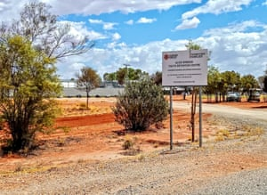 Alice Springs youth detention centre, outside Alice on the Stuart Highway, Northern Territory.